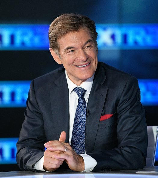 "Dr. Mehmet Oz visits ""Extra"" at Burbank Studios in Burbank, California 