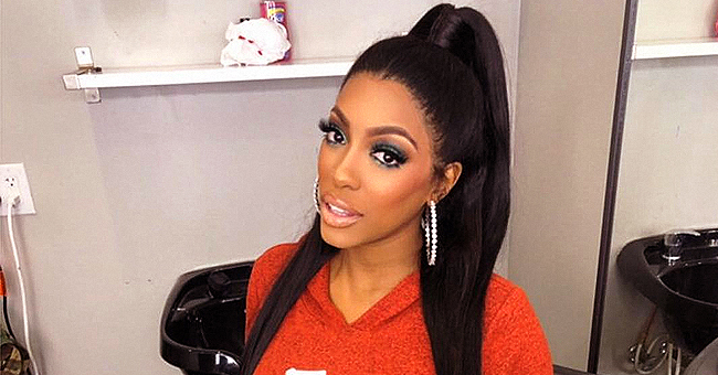 Porsha Williams of RHOA Shares Photo of PJ with Pigtails as She Sleeps While Sitting up in Grandma's Arms