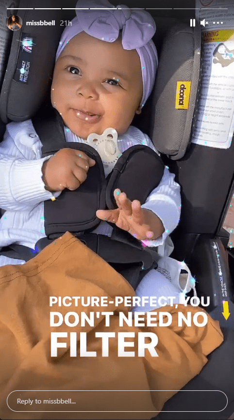 Nick Cannon and Brittany Bell's daughter Powerful Queen smiles in an adorable clip. | Photo: Instagram/@missbell