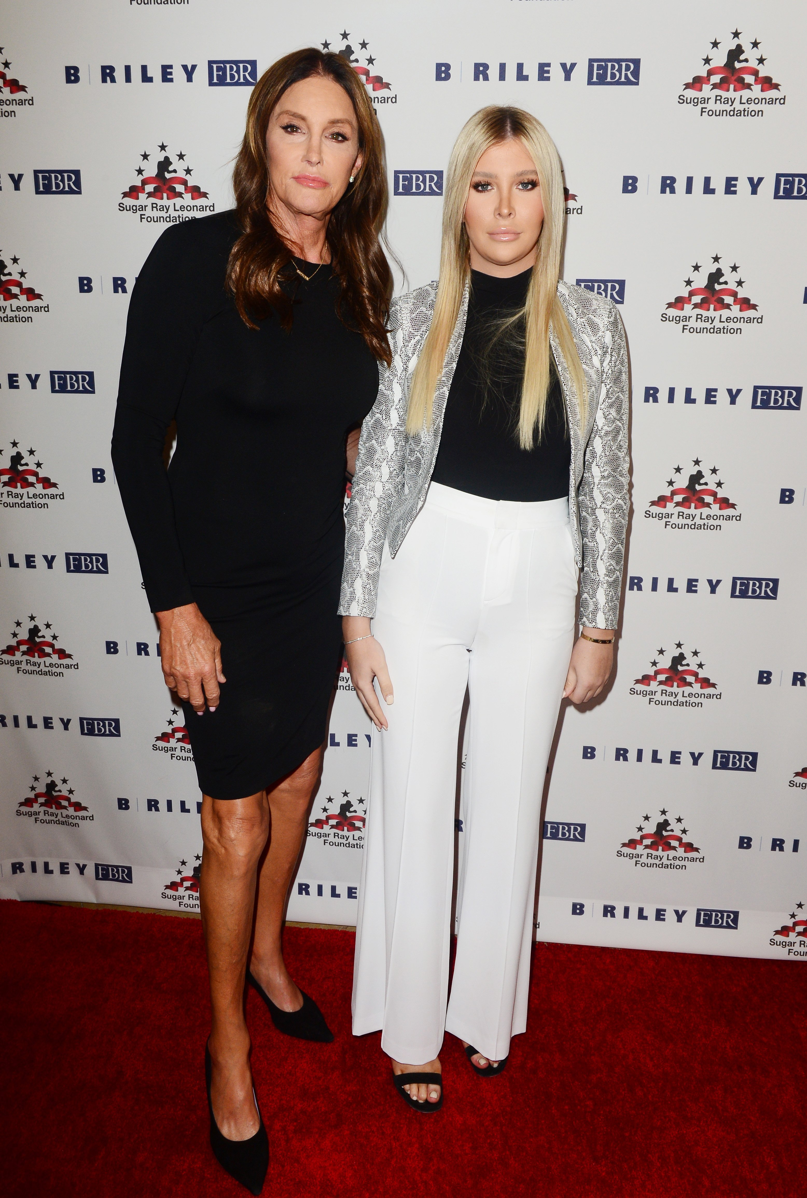 """Caitlyn Jenner and Sophia Hutchins attend the 10th Annual """"Big Fighters, Big Cause,"""" Charity Boxing Night in Beverly Hills on May 22 