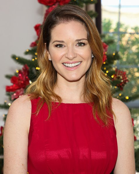 Sarah Drew at Universal Studios Hollywood on September 21, 2020 in Universal City, California.   Photo: Getty Images