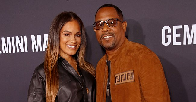 Martin Lawrence's Fiancée Roberta Flaunts Fit Figure in Velvet Swimsuit (Photos)