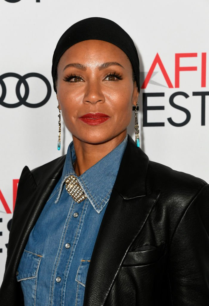 "Jada Pinkett Smith attends the screening of ""Hala"" during AFI FEST 2019 presented by Audi at TCL Chinese 6 Theatres 
