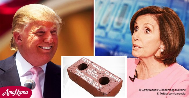 Donald Trump faces backlash for ''Send a brick to Chuck & Nancy' campaign on social media