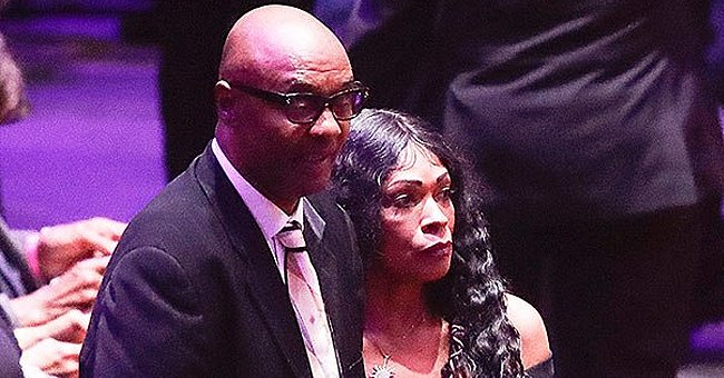 Kobe Bryant's Parents Joe and Pam Bryant Came to the Memorial to Pay Tribute to Son and Granddaughter Gianna