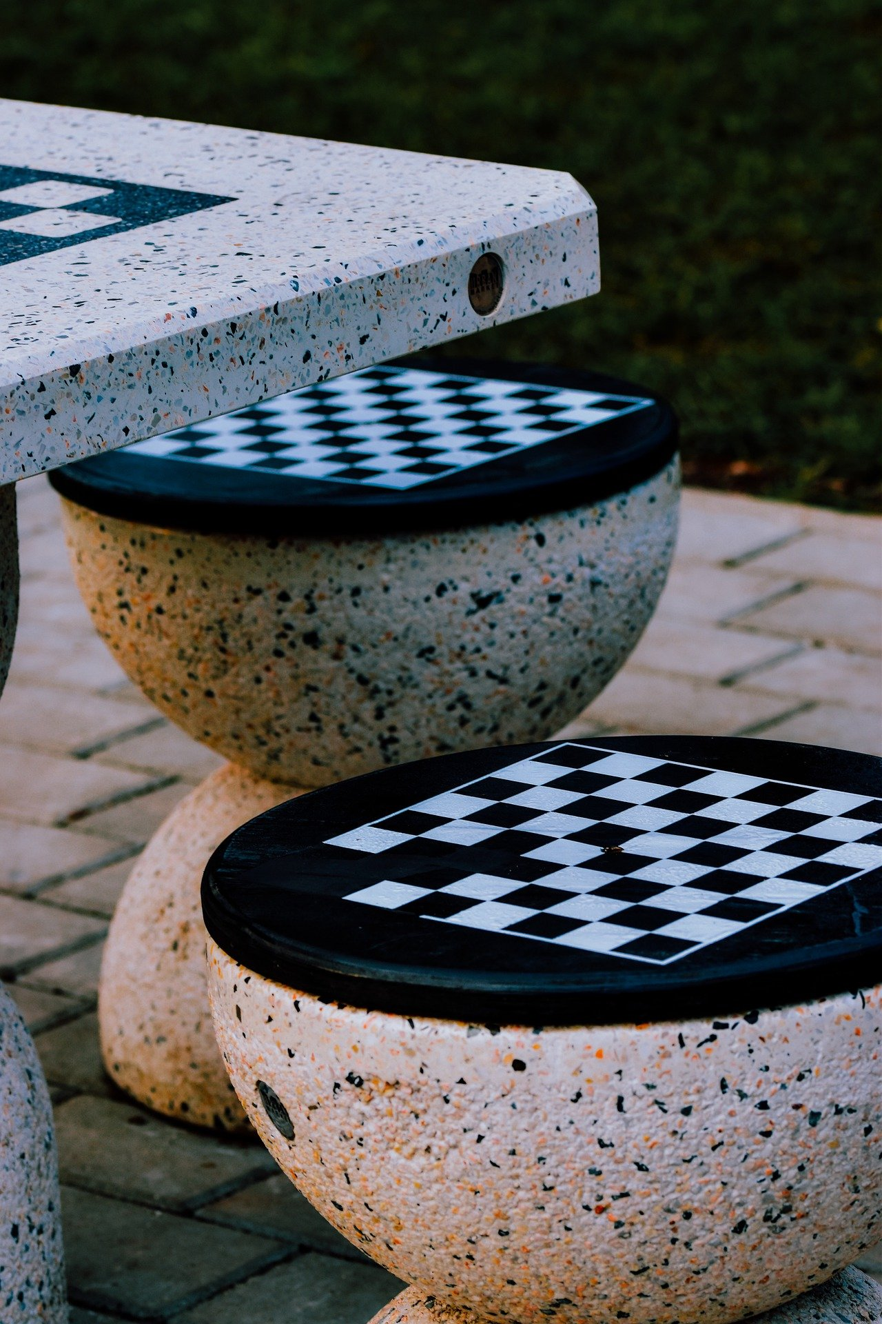 Pictured - A chess table for competitions   Source: Pixabay