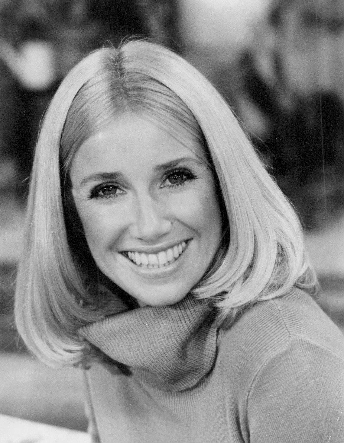 A 1977 photo of Suzanne Somers.   Source: Wikimedia Commons