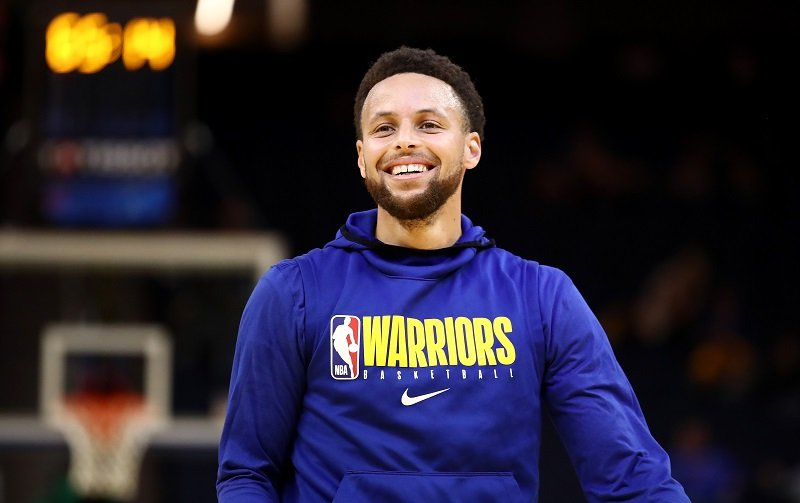 Stephen Curry at Chase Center on March 05, 2020 in San Francisco, California   Photo: Getty Images