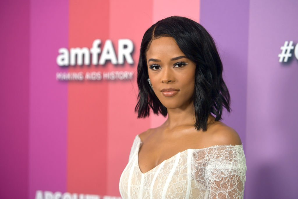 Serayah McNeill attends the 2019 amfAR Gala Los Angeles at Milk Studios on October 10, 2019 | Photo: Getty Images