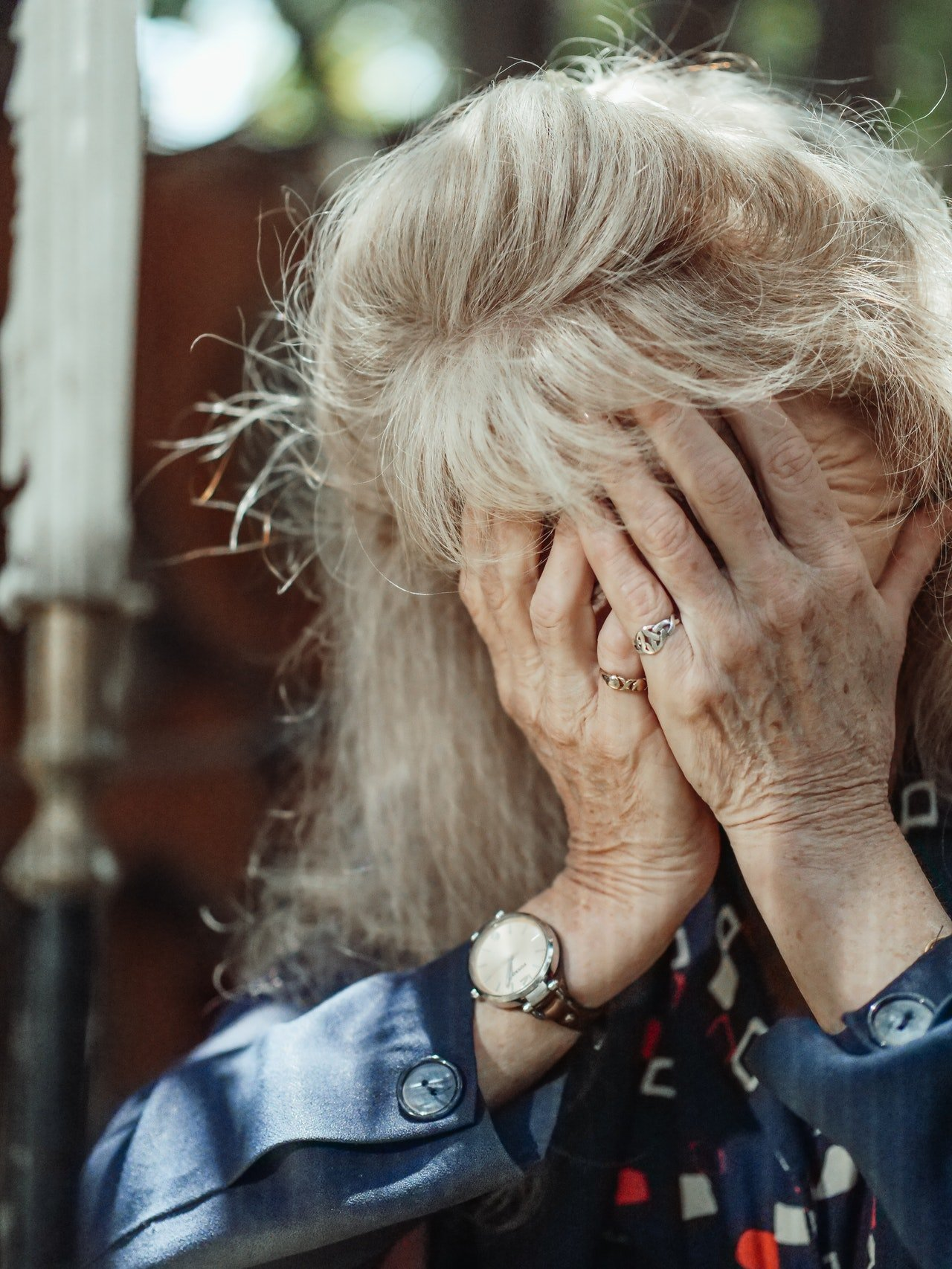 Adelaine cried out of frustration, and a new neighbor saw her.   Source: Pexels