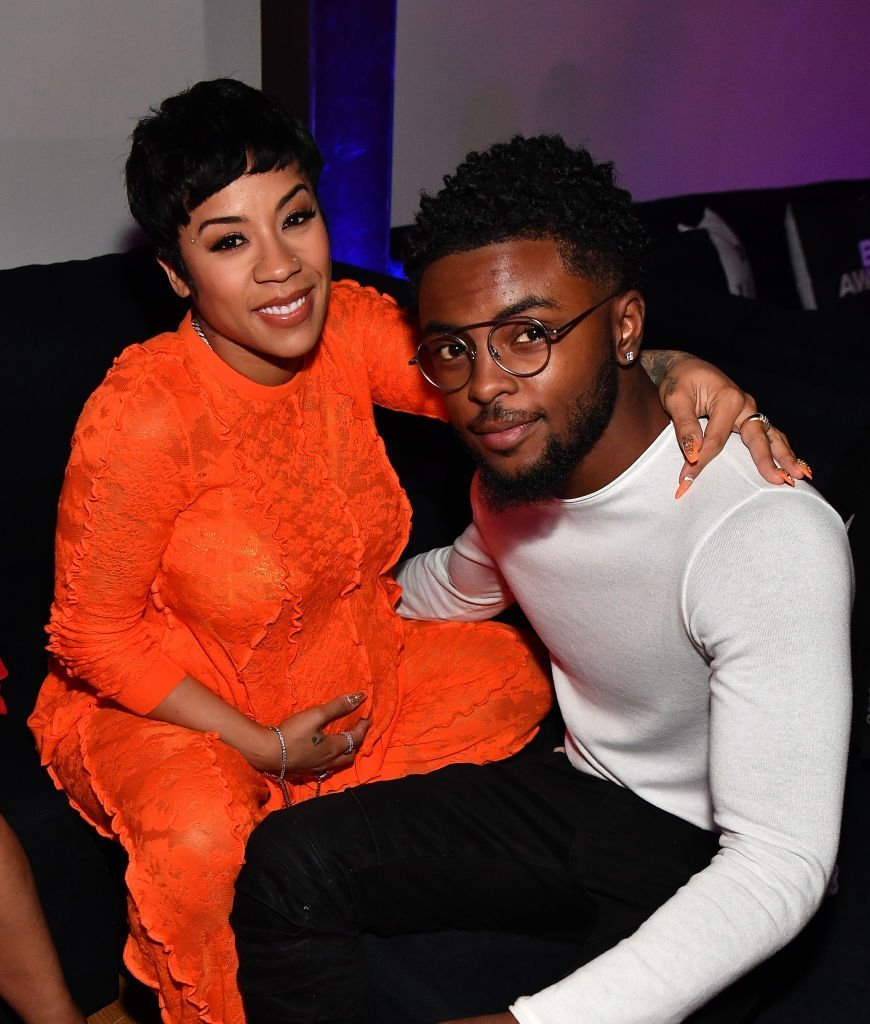 Keyshia Cole and Niko Hale attend PREMIX Hosted By Connie Orlando at The Sunset Room in Los Angeles, California | Photo: Getty Images