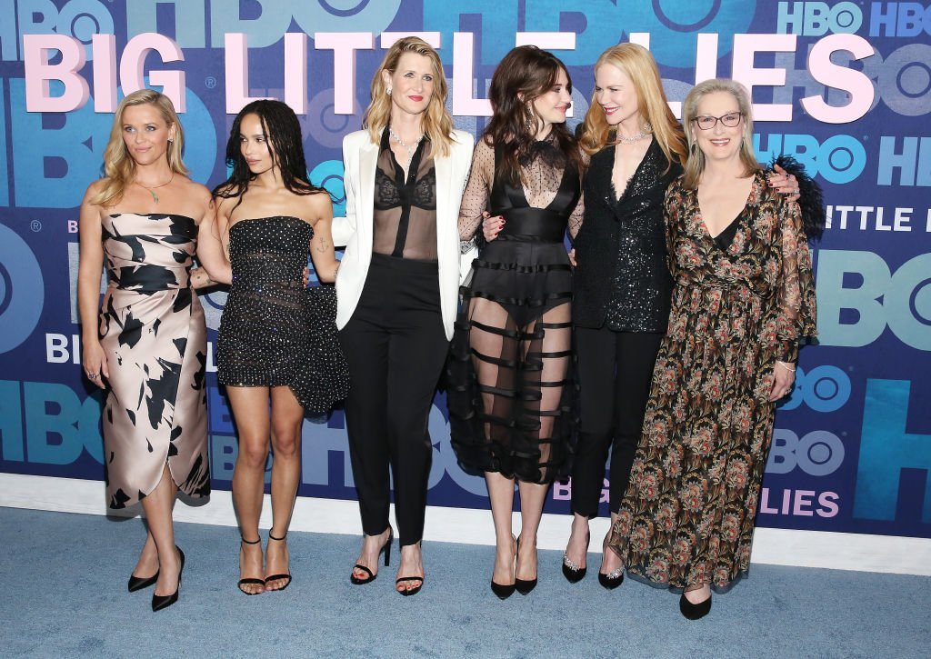 "Les actrices de la série ""Big Little Lies"". 