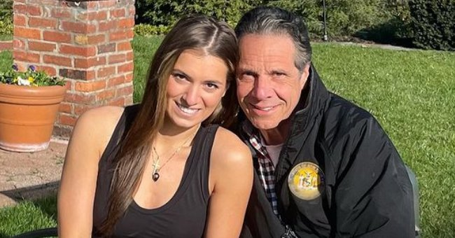 Andrew Cuomo's Daughter Mariah Poses In Black Outfit with Her Dad for a Sweet Photo