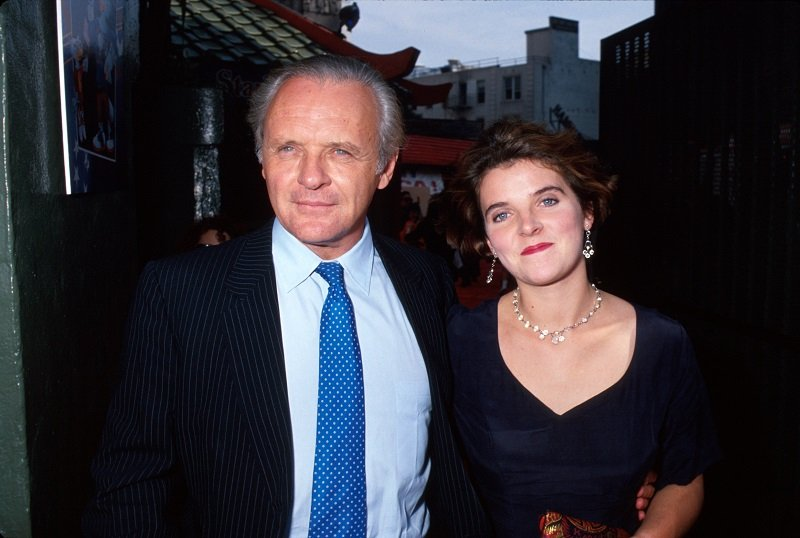 Anthony Hopkins and daughter Abigail Hopkins circa 1991 | Photo: Getty Images