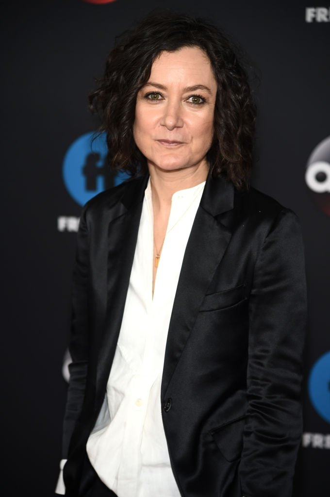 Sara Gilbert attends during 2018 Disney, ABC, Freeform Upfront at Tavern On The Green on May 15, 2018, in New York City. | Source: Getty Images.