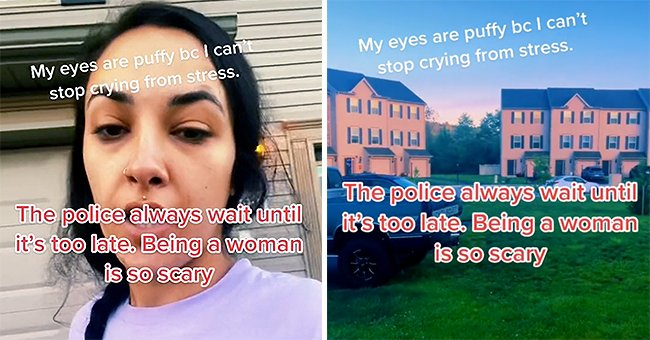 Woman details her experiences with an alleged stalker and states that the police have not helped her | Photo: TikTok/babyriahxo