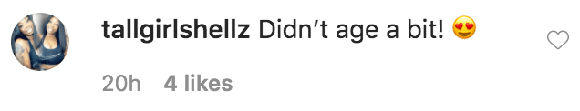 """A fan commented on a photo of Kenya Moore and Tami Roman on the set of """"Hot Parts"""" 