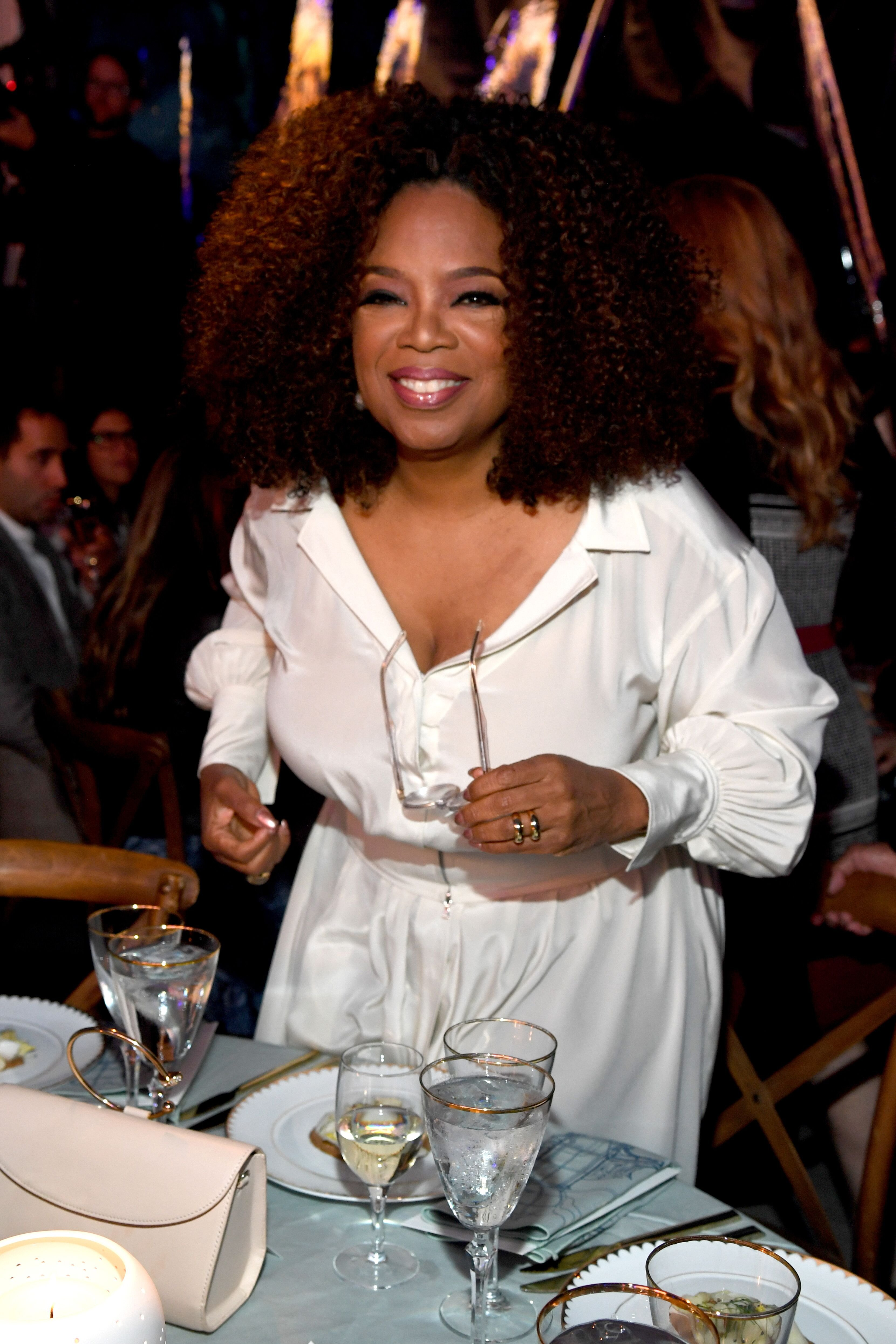 Oprah Winfrey attends the Statue Of Liberty Museum Opening Celebration. | Source: Getty Images