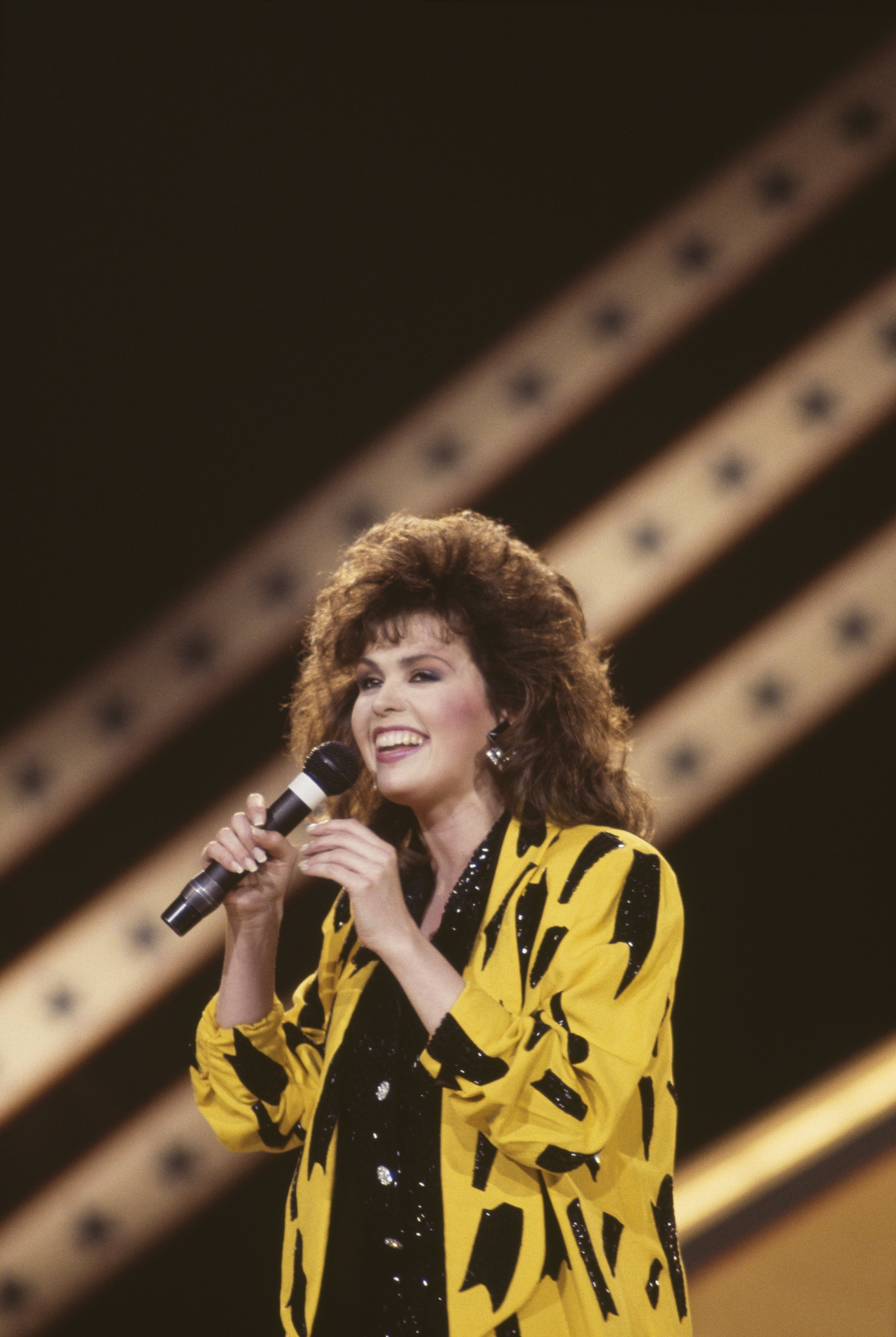 Marie Osmond during a 1986 concert in London. | Photo: Getty Images
