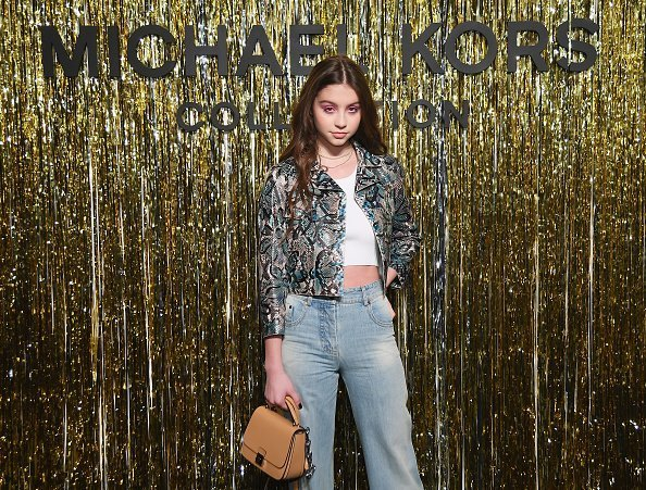 Carys Zeta Douglas at the Michael Kors Collection Fall 2019 Runway Show  in New York City. | Photo: Getty Images