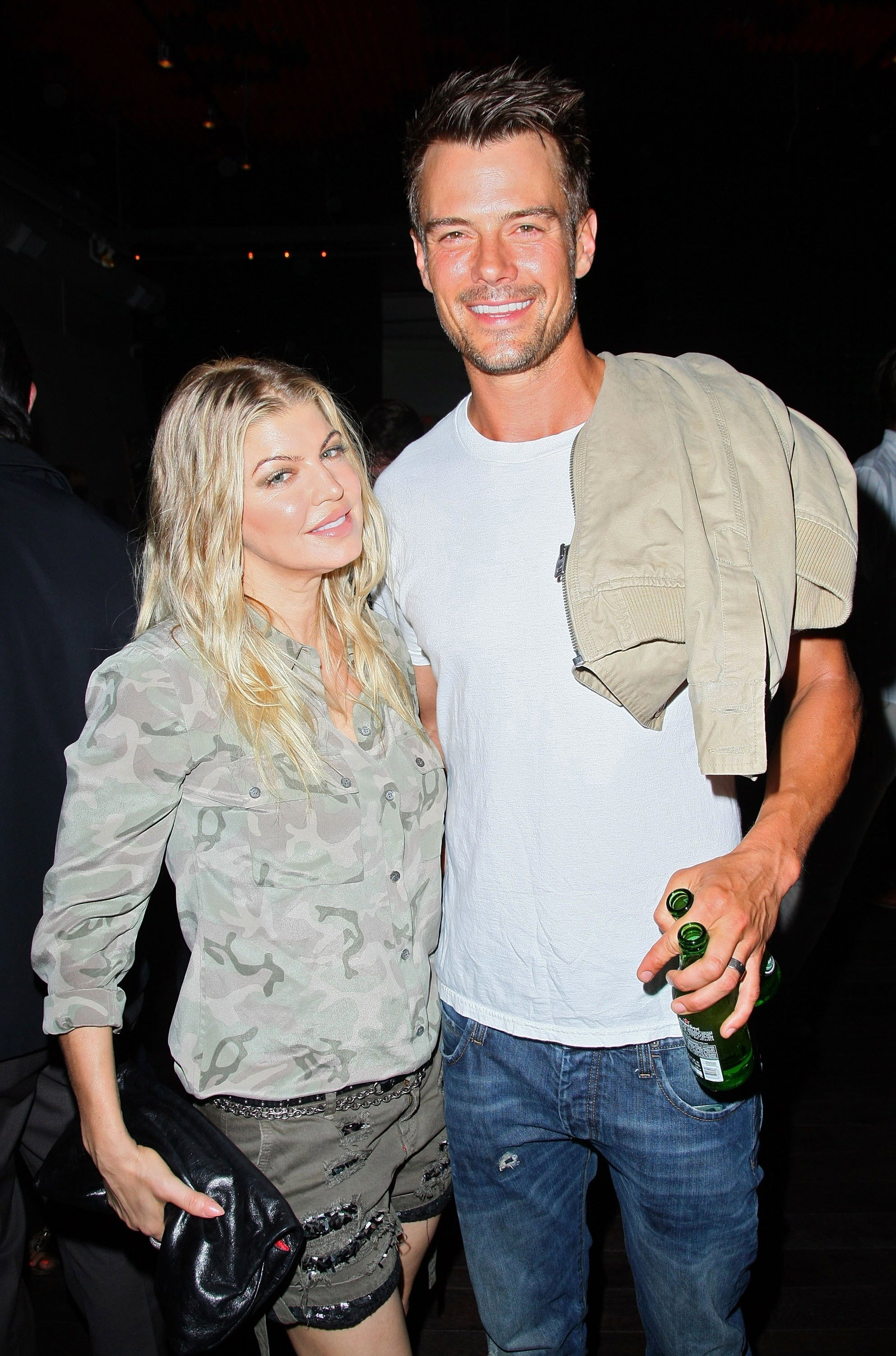 "Fergie and actor Josh Duhamel attend the screening of ""Alekesam"" at Sonos Studio on August 22, 2012, in Los Angeles, California. 