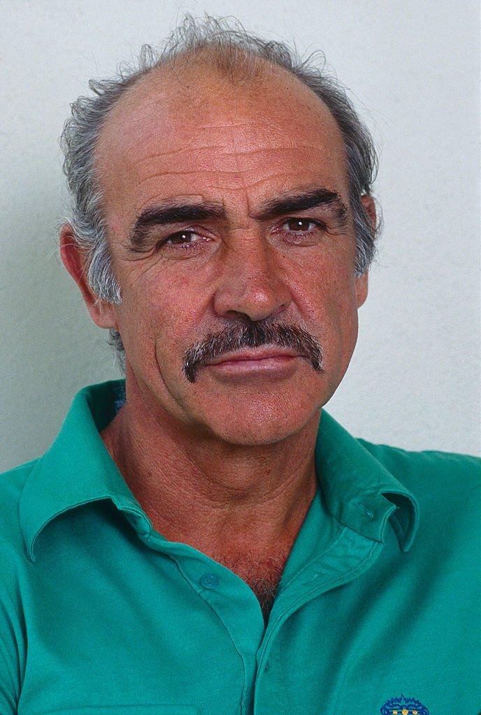 Le légendaire Sean Connery en 1987. l Source : Getty Images