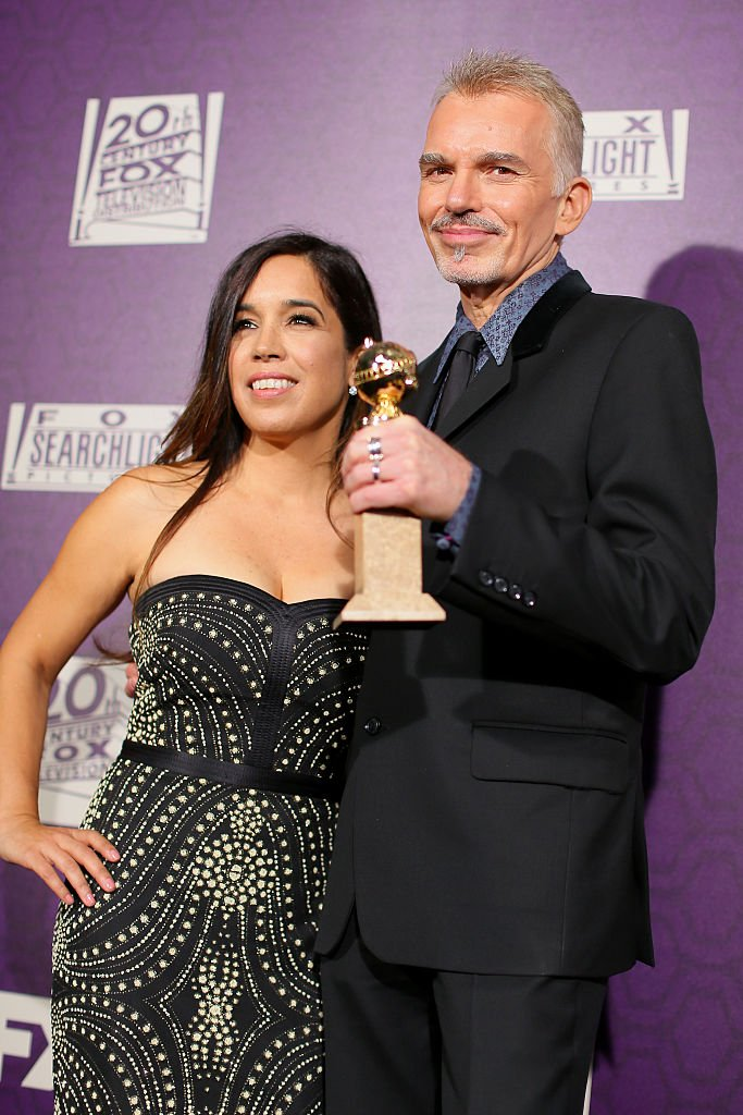 Billy Bob Thornton and Connie Angland attend The 72nd Annual Golden Globe Awards at The Beverly Hilton on January 11, 2015 | Photo: Getty Images
