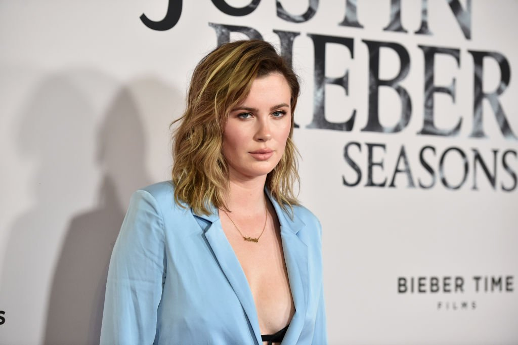 """Ireland Baldwin attends the premiere of YouTube Original's """"Justin Bieber: Seasons"""", January 2020   Source: Getty Images"""