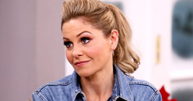 """Candace Cameron-Bure visits Hallmark Channel's """"Home & Family"""" at Universal Studios Hollywood on November 18, 2019 in Universal City, California   Photo: Getty Images"""