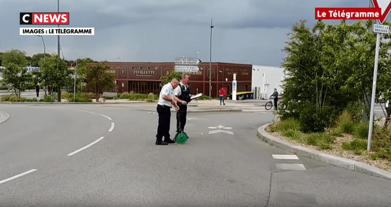 Voiture en fuite à Lorient : un enfant mort, un autre blessé | Photo : CNEWS/Youtube