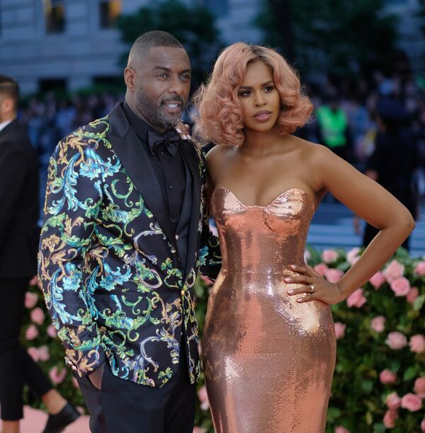 Sabrina Dhowre and Idris Elba at the MET Gala | Source: Getty Images/GlobalImagesUkraine