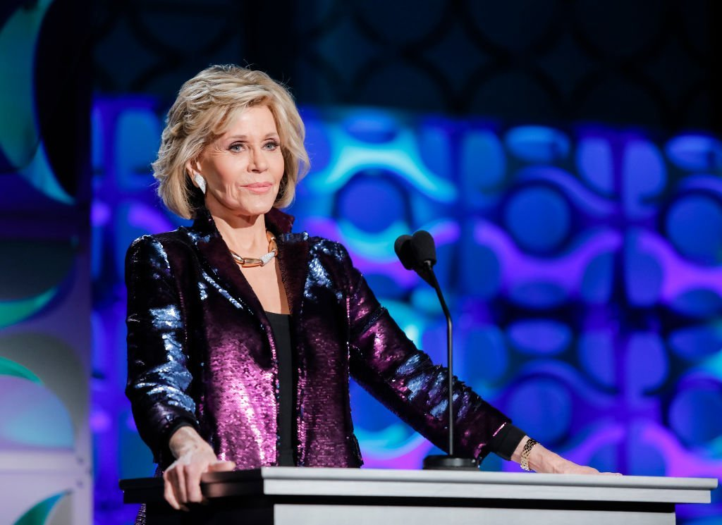 Jane Fonda hosts Homeboy Industries 2019 Lo Máximo Awards Dinner at JW Marriott Los Angeles at L.A. LIVE | Getty Images