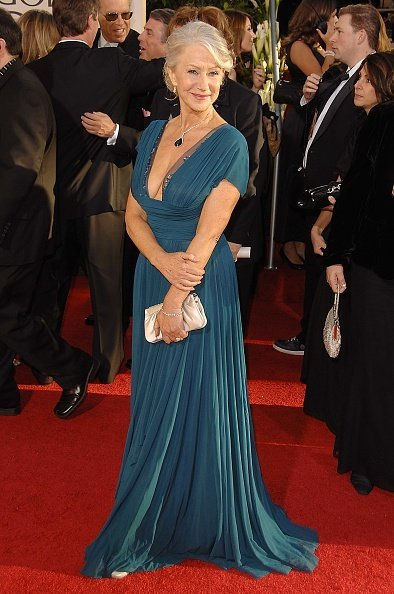Helen Mirren on the red carpet of the 64th Annual Golden Globe Awards | Photo: Getty Images