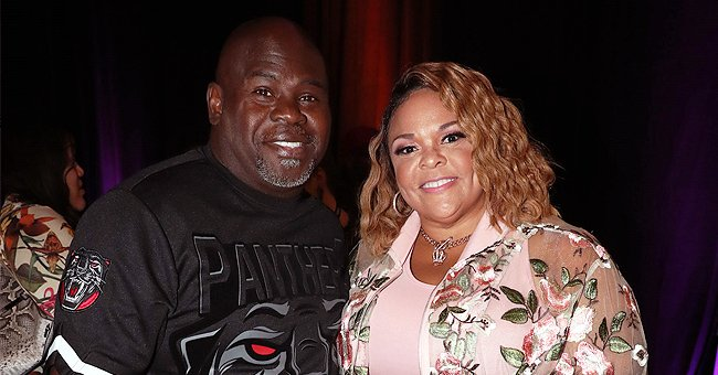 Tamela Mann's Husband David Shares Video of Himself in Long Queue outside a Grocery Store