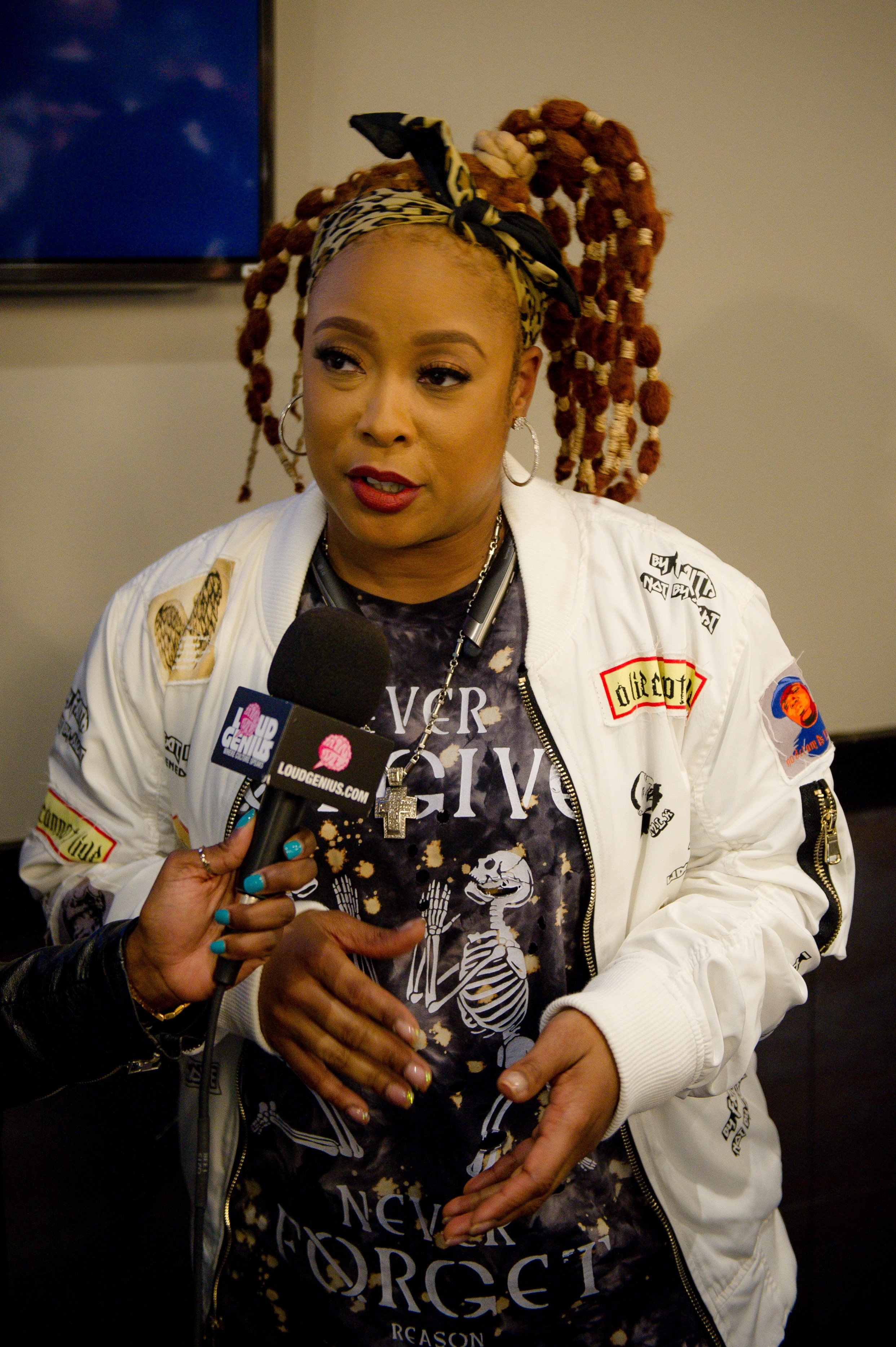 Rapper Da Brat attends the 2017 SoSoSummer17 concert tour press conference at the Topgolf Midtown in Atlanta. | Photo: Getty Images