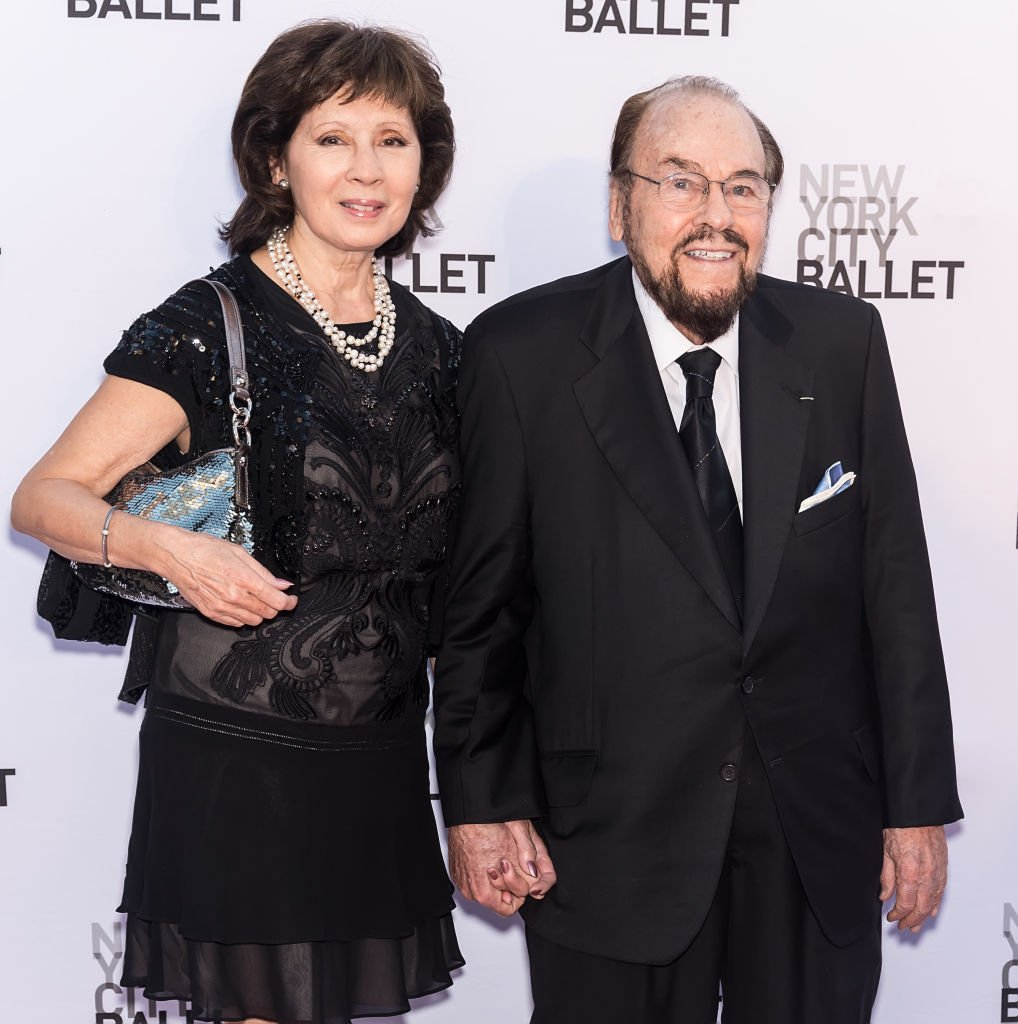 Kedakai Mercedes and James Lipton arrive at the New York City Ballet's 2017 Fall Fashion Gala at Lincoln Center on September 28, 2017, New York | Source: Getty Images (Photo by Gilbert Carrasquillo/FilmMagic)