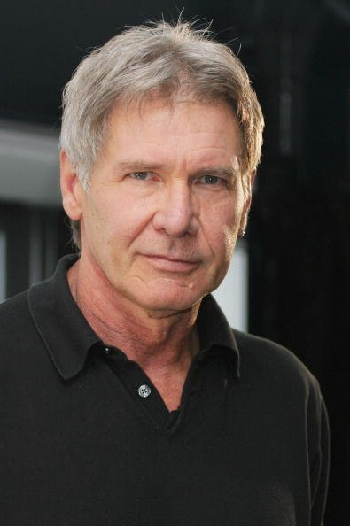 Harrison Ford poses during a press conference at the Quay Restaurant on February 20, 2006, in Sydney, Australia. | Source: Getty Images.