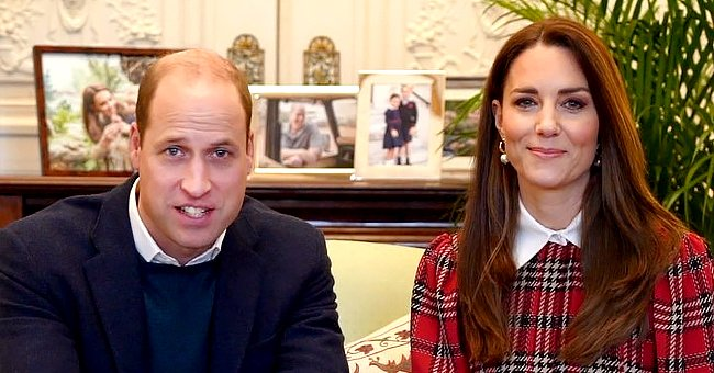 Here's a Closer Look at Family Photos Kate Middleton & Prince William Have on Their Work Space