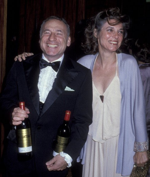Mel Brooks and Anne Bancroft attend Academy of Television Arts & Sciences Honors Sid Caeser at the Century Plaza Hotel | Photo: Getty Images