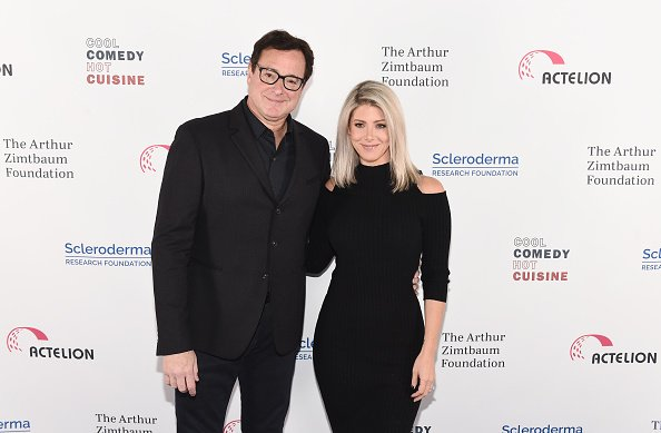 Bob Saget and Kelly Rizzo at Caroline's on Broadway on December 11, 2018 in New York City. | Photo: Getty Images