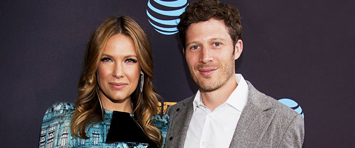 Kiele Sanchez and Zach Gilford in Los Angeles, California on May 25, 2016   Photo: Getty Images