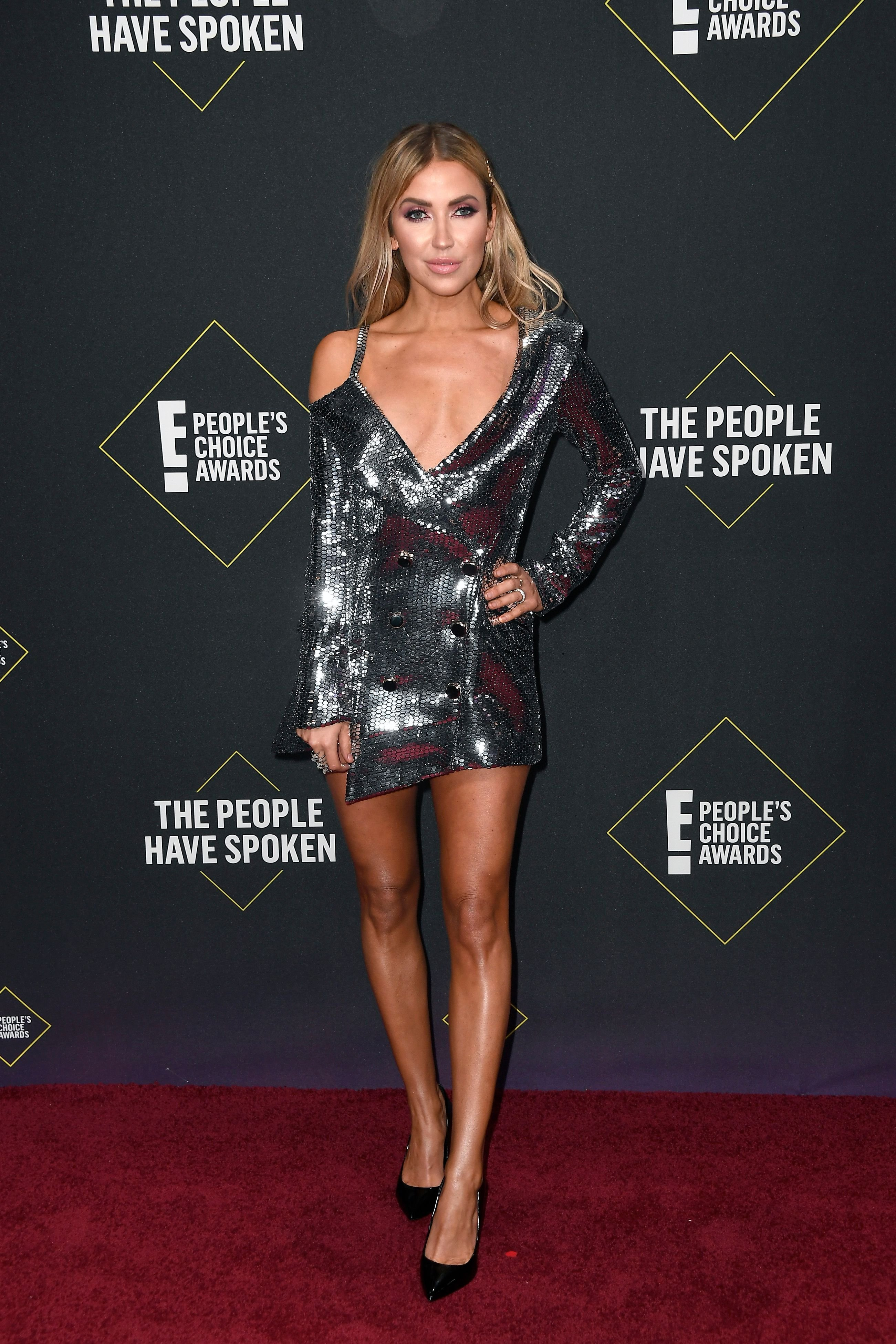 Kaitlyn Bristowe at the 2019 E! People's Choice Awards at Barker Hangar on November 10, 2019 | Photo: Getty Images