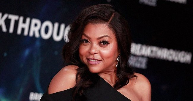 Here's How Taraji P Henson Looked in the 8th Grade with Her Voluminous Bangs