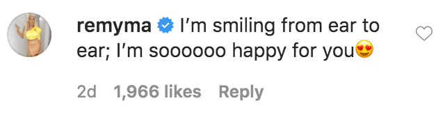 """Remy Ma commented on a video of Jeezy and Jeannie Mai singing in the rain toNew Edition's song, """"Can You Stand the Rain""""
