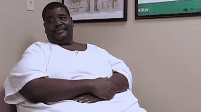 """""""My 600-Lb Life"""" star Henry Foots before losign weight   Photo: YouTube/Nicki Swift"""