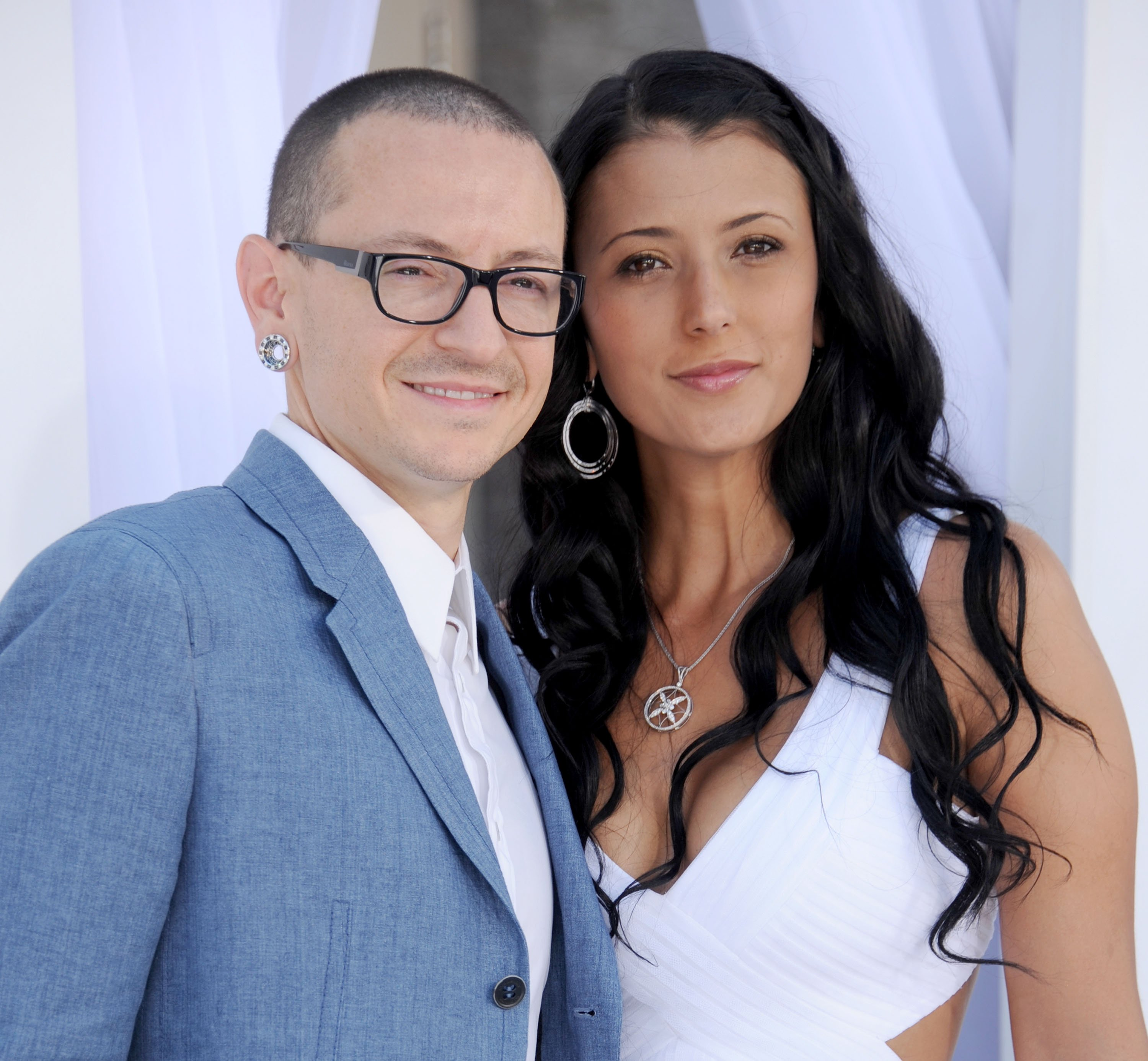 Talinda and Chester Bennington at the 2012 Billboard Music Awards | Getty Images