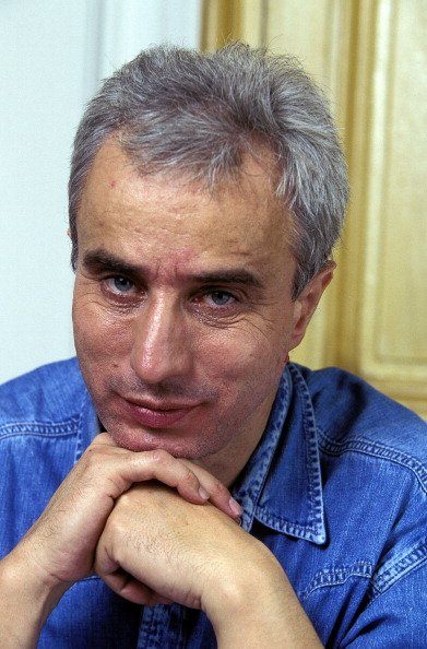 Christian Spitz, Author On September 26th, 1996 In France.   Photo : Getty Images