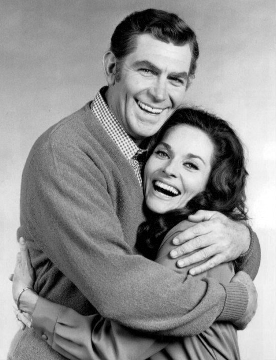 ublicity photo of Andy Griffith and Lee Meriwhether from the television program The New Andy Griffith Show.   Photo: Wikimedia Commons Images