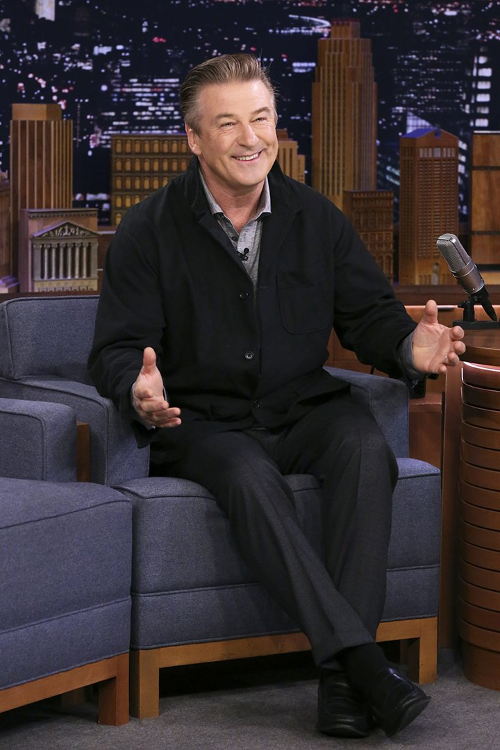 "Alec Baldwin interviewed on ""The Tonight Show Starring Jimmy Fallon"" in October 2019. I Image: Getty Images."