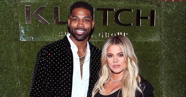Khloé Kardashian's Daughter True Bonds With Dad Tristan Thompson in New Photos